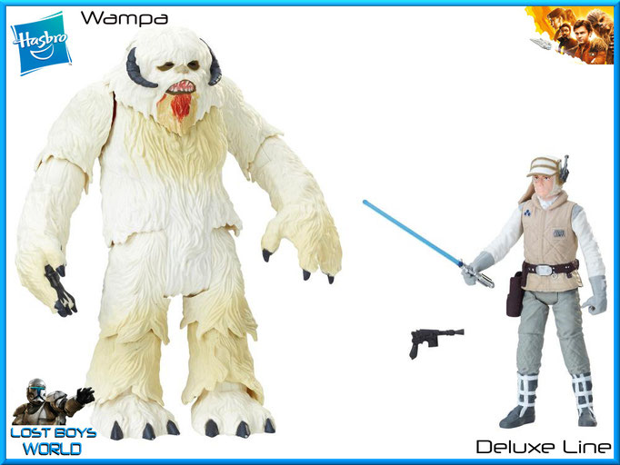 Wampa w/ Luke Skywalker