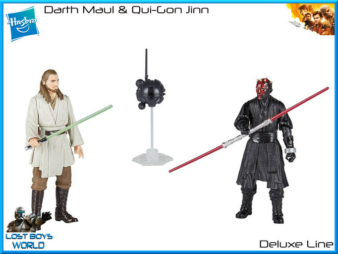 Darth Maul & Qui-Gon Jinn