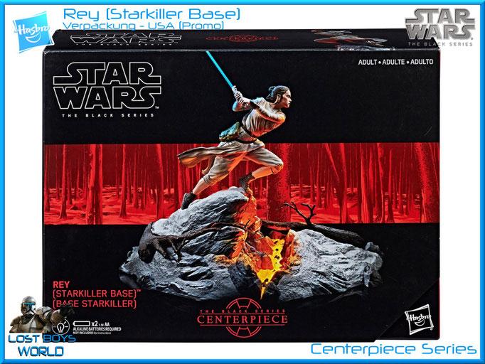 The Black Series - Centerpiece Line - Rey (Starkiller Base)