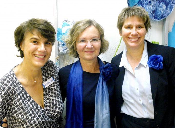 Antje Bolli-Trostdorf, Dr. med. Annette Klöpper,  Annette Marschall (v. l. n. r.)
