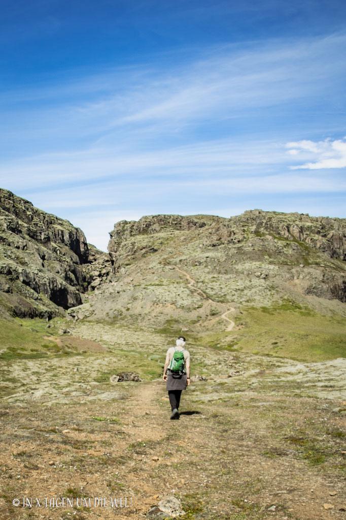 Wanderung Skalafellsjökull