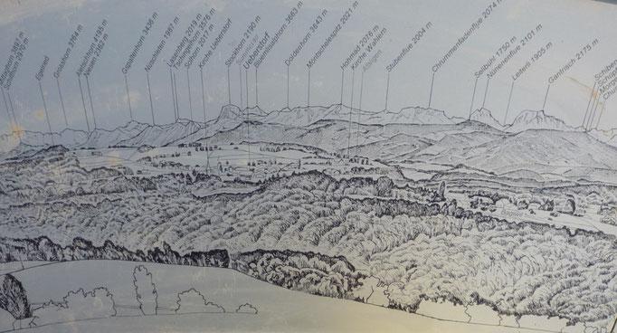 Ausschnitt aus dem Panorama