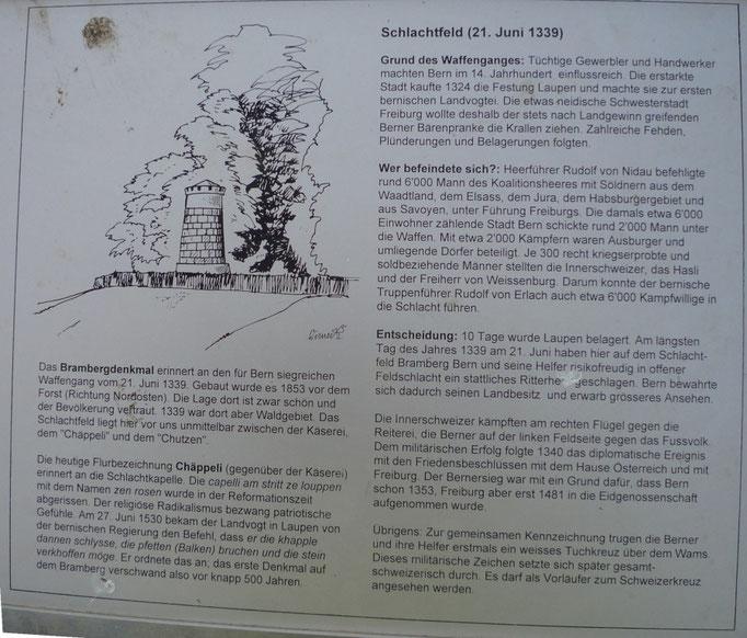 Informationen zur 'Schlacht bei Laupen' (1339)