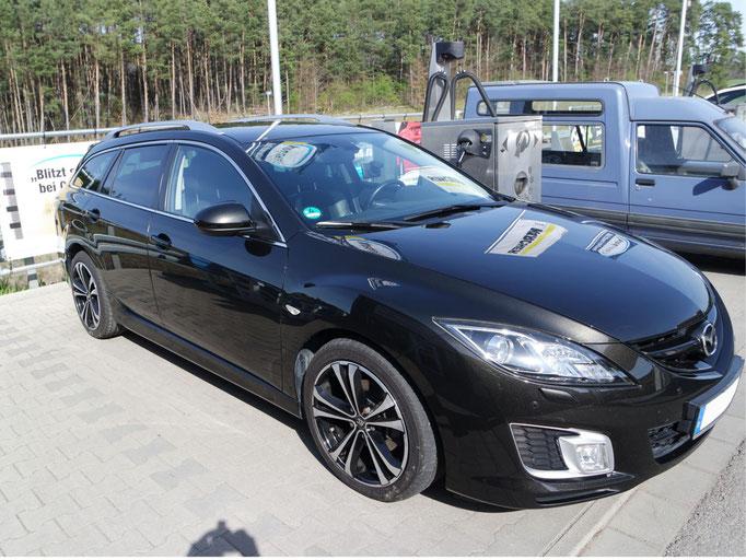 Mazda 6 Politur