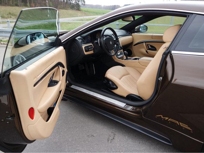 Aufbereiteter Maserati - Innenansicht