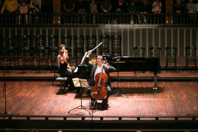 Prizewinner Concert of Pablo Casalas International Cello Competition in Budapest 2014