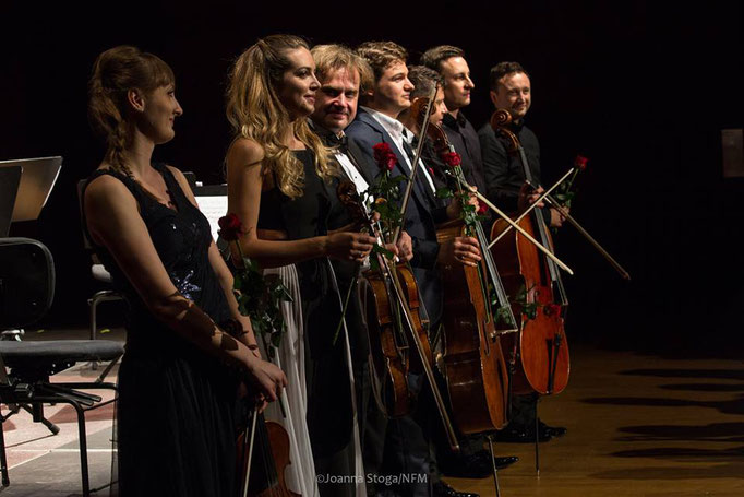 National Forum of Music in Wroclaw 2017 with Julian Rachlin, Radosław Szulc, Radosław Pujanek, Sarah McErlavy, Katarzyna Budnik-Gałązka and Andrei Ionuț Ioniță
