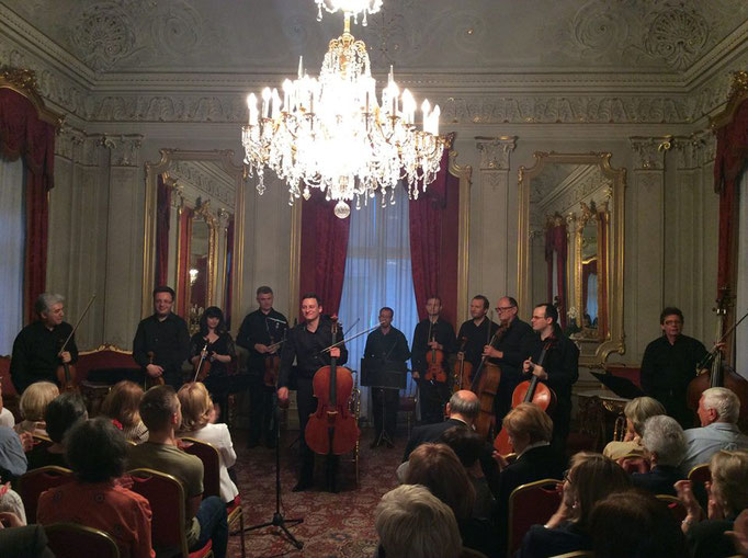 Concert with Zagreb Soloists - Zagreb May 2016