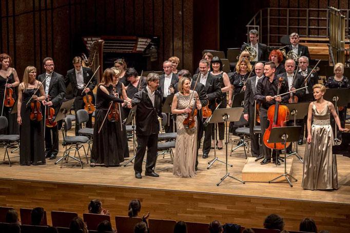 Lodz Philharmonic conducted by Ivan Monighetti May 2016 photo: Dariusz Kulesza