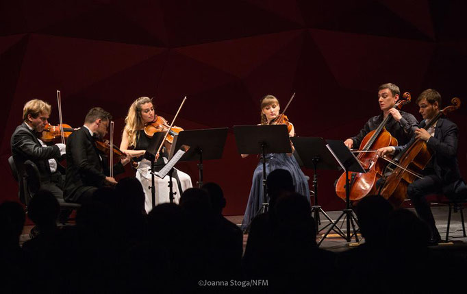 National Forum of Music in Wroclaw 2017 with Julian Rachlin, Radosław Szulc, Sarah McErlavy, Katarzyna Budnik-Gałązka and Andrei Ionuț Ioniță