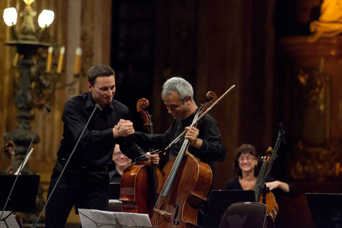 Wratislavia Cantans Festival 2013 with Giovanni Sollima and Festival Cello Ensamble