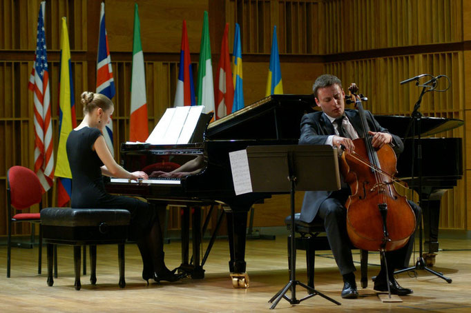 Semi-final of Lutoslawski International Cello Competition in Warsaw, 2011