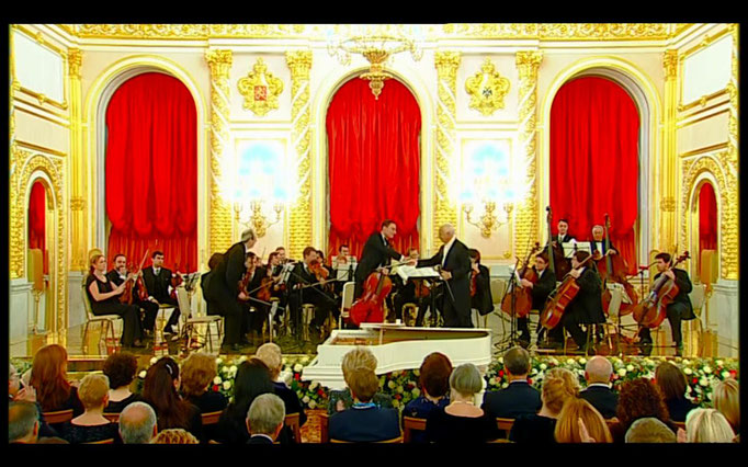 Rising Stars Festival in Kremlin with Moscow Virtuosi conducted by Vladimir Spivakov - Moscow, November 2011