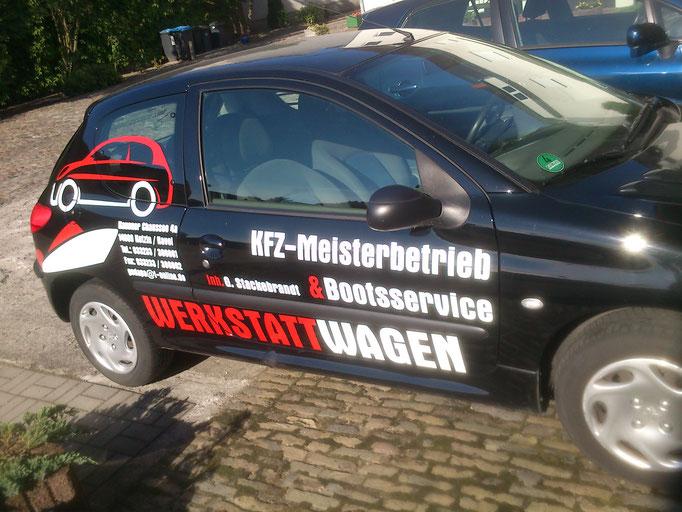 KFZ-Meisterbetrieb (Peugeot 206)