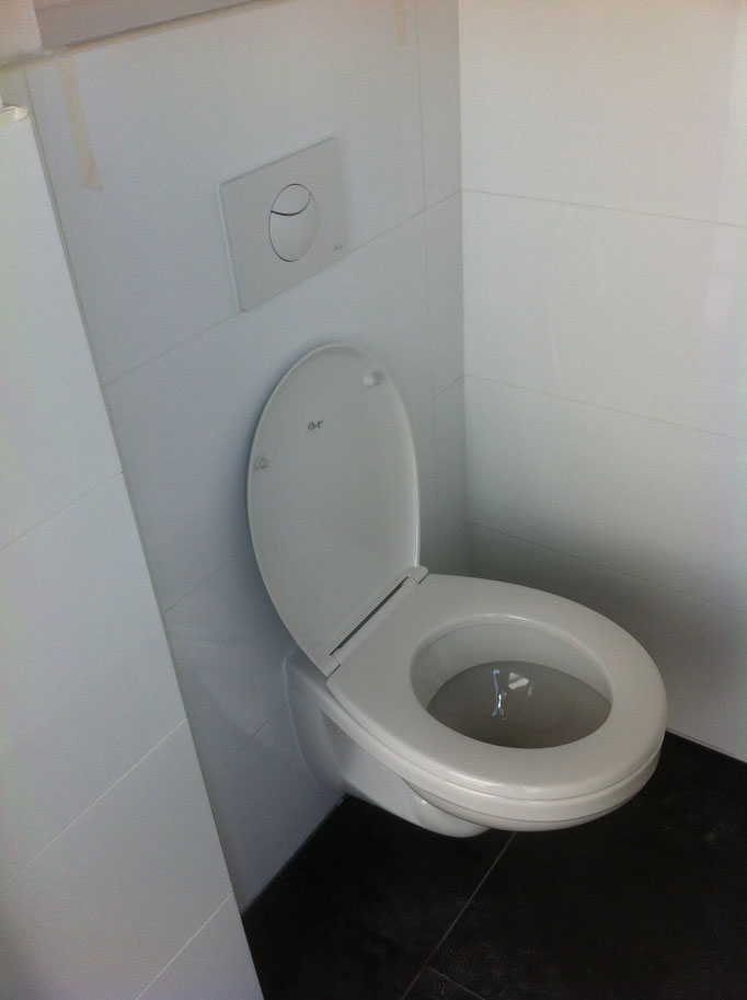 Complete toilet renovatie