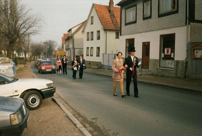 Kirmesgesellschaft 1995/ Archiv Crawinkler- Runde