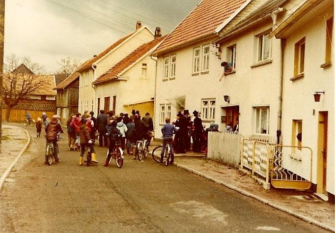 Kirmesgesellschaft 1984/ Archiv Crawinkler- Runde