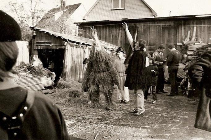 Kirmesgesellschaft 1985/ Archiv Crawinkler- Runde