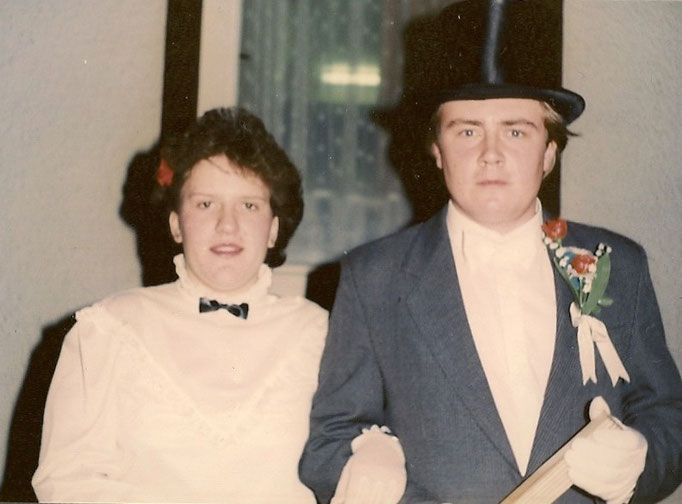 Kirmesgesellschaft 1988/ Archiv Crawinkler- Runde