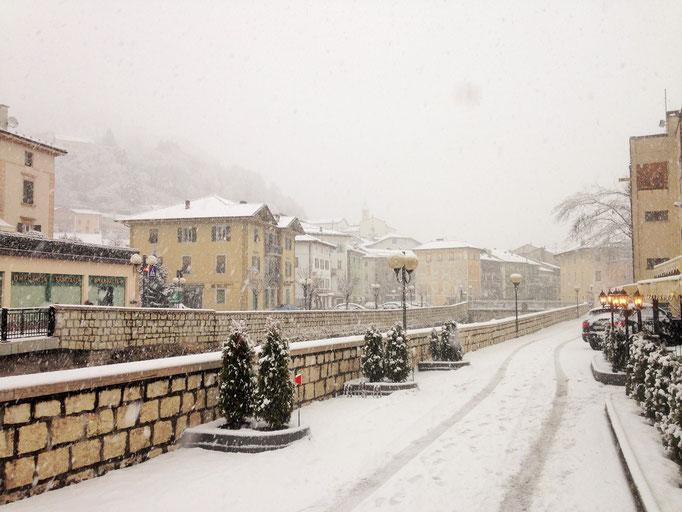 Wintereinbruch in Borgo