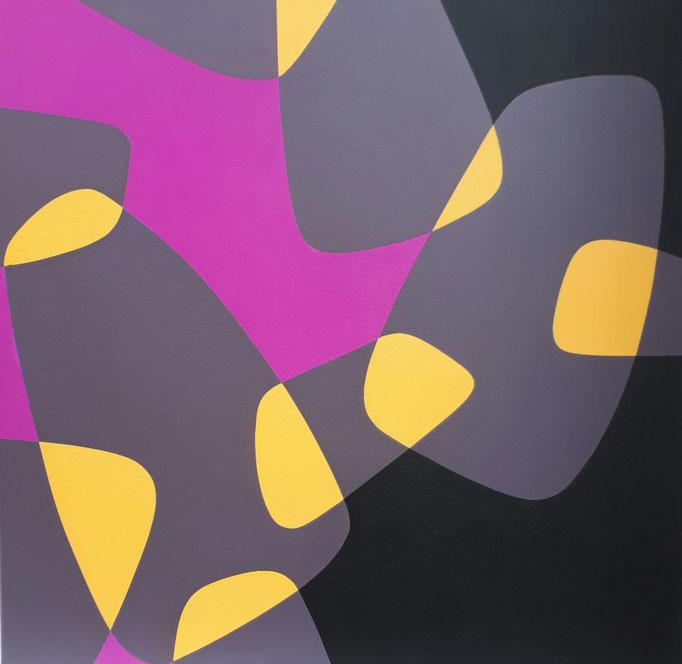 Coblence_1, Acryl auf Leinwand, 60 x 60 cm