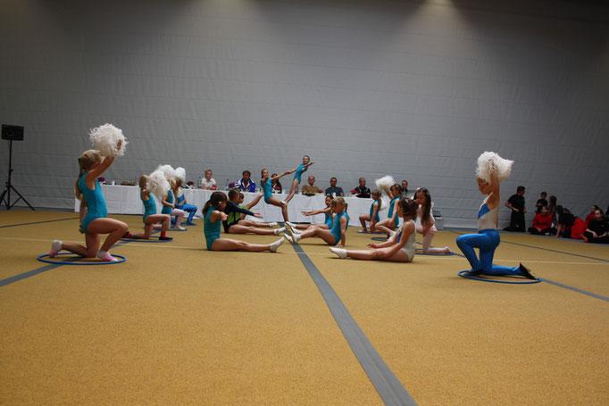 Auftritt Breitensportgruppe