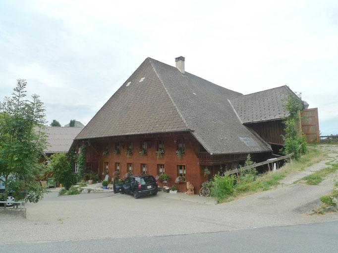 Bauernhäuser mit diesen Dächer