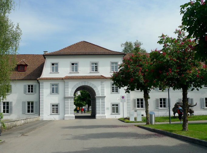 Südlicher Eingang