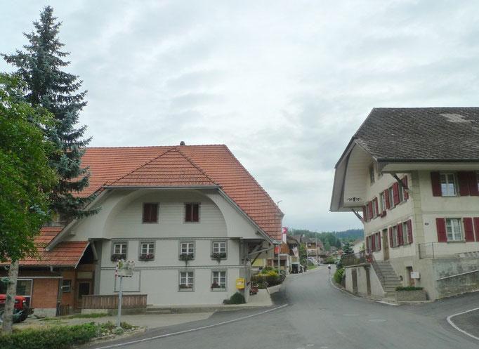 Stattliche Häuser in Eriswil