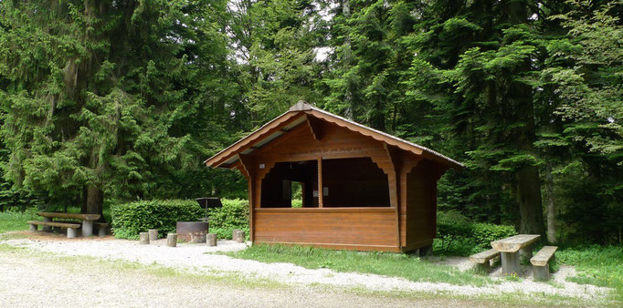 Picknickplatz im Unterwald