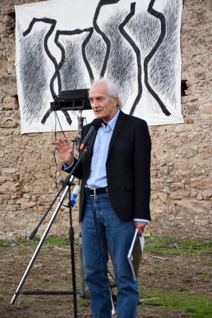 """Il prof. Paolo Apolito - inaugurazione dell'evento """"SANCTA VENERA"""" a Paestum - 2016"""