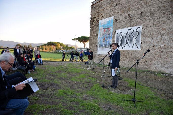 Il dr. Zuchtriegel inaugura l'evento SANCTA VENERA - Paestum - 2016