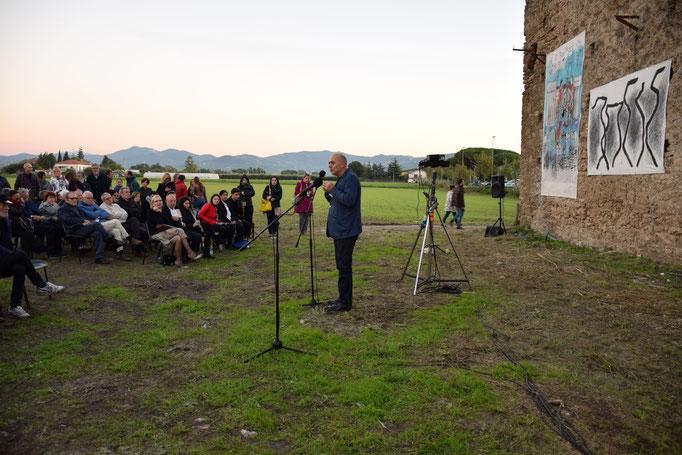 """IL critico Massimo Bignardi - Inaugurazione dell'evento """"SANCTA VENERA"""" a Paestum - 2016"""