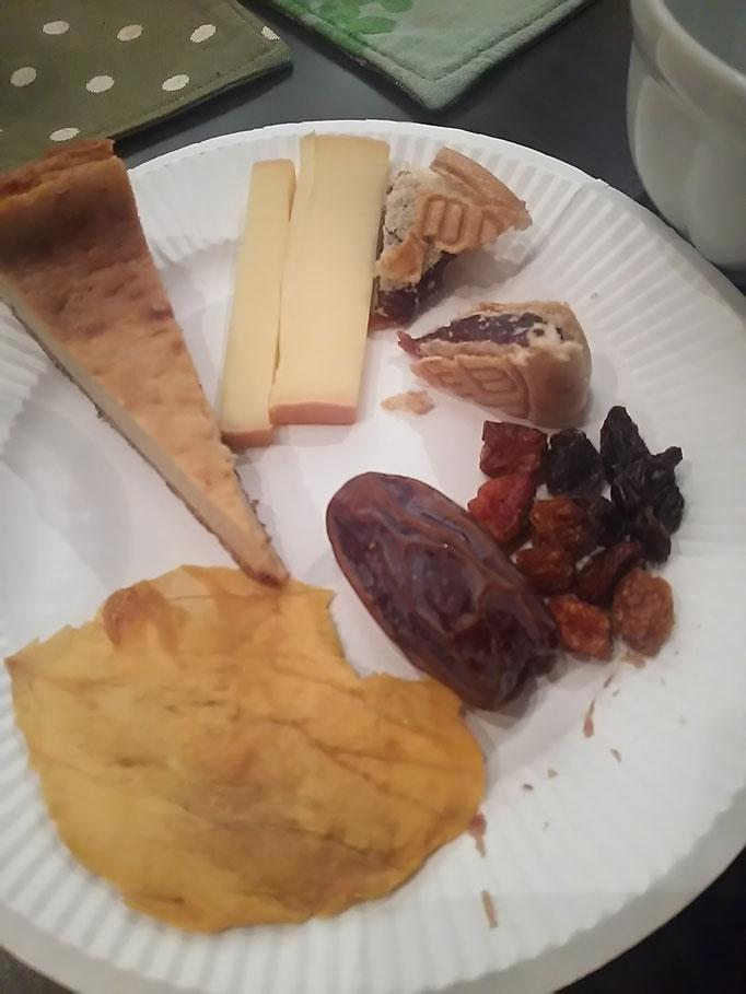 ドライフルーツ、あんこ系、チーズ系