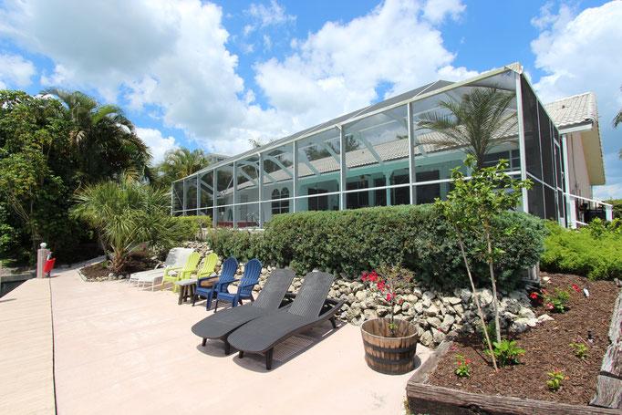Marco Island Ferienhaus Bootsdock / Außenansicht