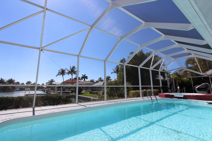 Marco Island Vacation Home terrace / pool