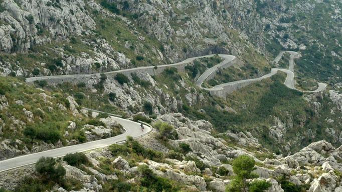 Col de Reis/Mallorca auf dem Weg nach Sa Calobra