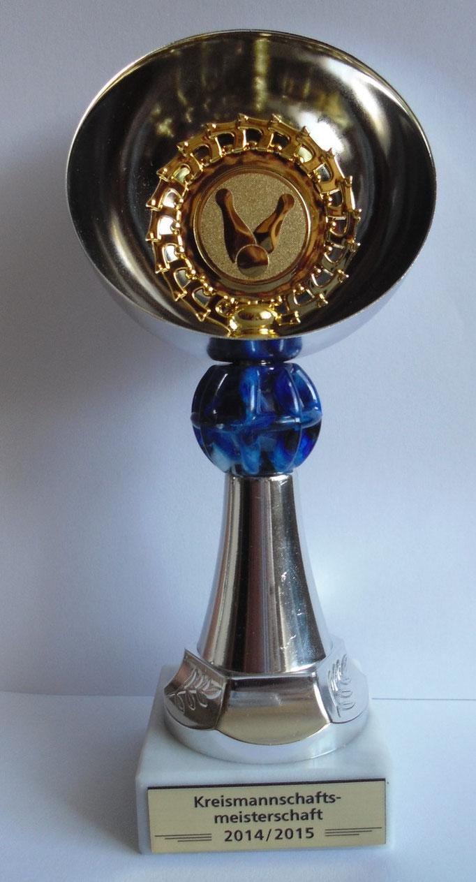 Pokal Kreismannschaftsmeisterschaft 2014/2015