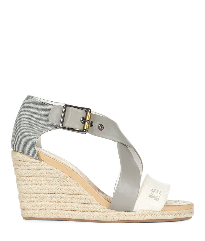 """Aria Wedge Salon Strap""-Sandalette. G-Star RAW, ca. 120 Euro"