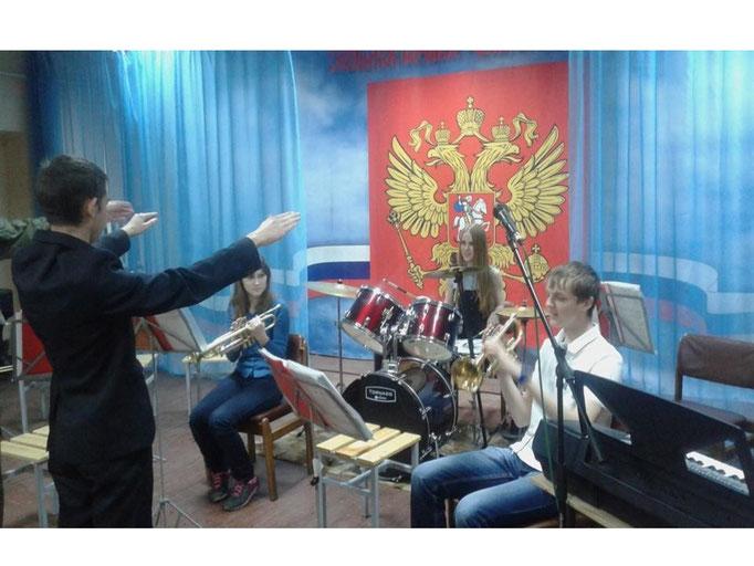 """Щучанский район профпроба """"Военный дирижер"""""""