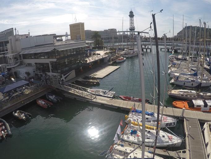 der Reial Club Maritim de Barcelona, Veranstalter der Regatta
