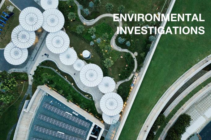 Environmental investigations