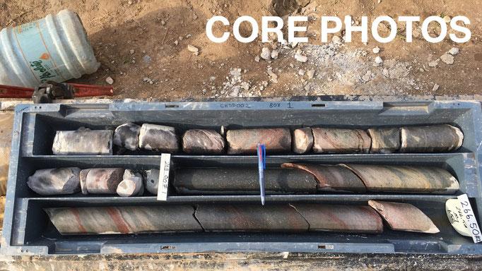 Core photos