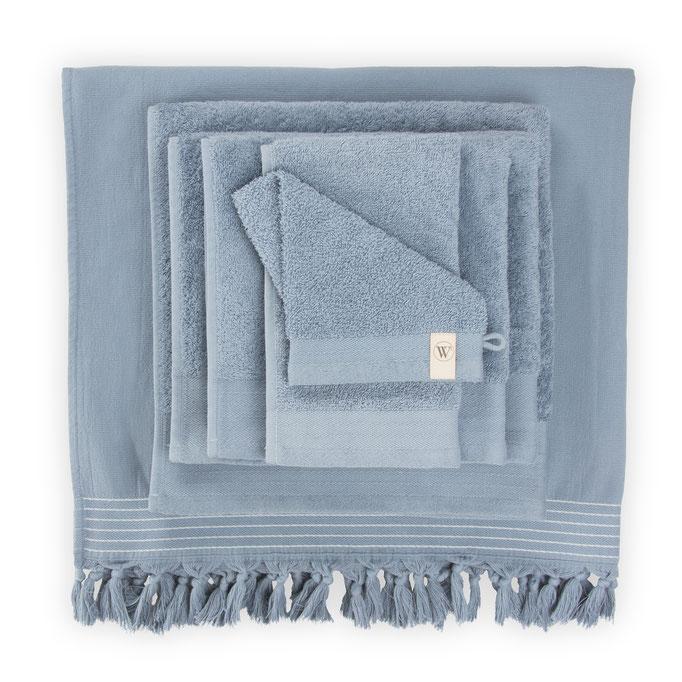 Walra handdoeken blauw
