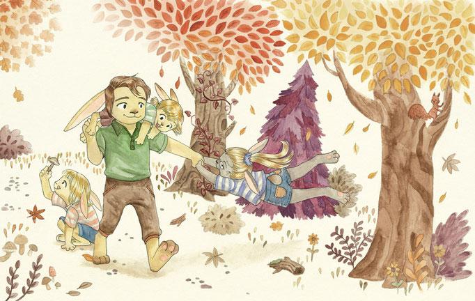 Decemberchild - biographical Children's Book, watercolor illstration (upl feb15)