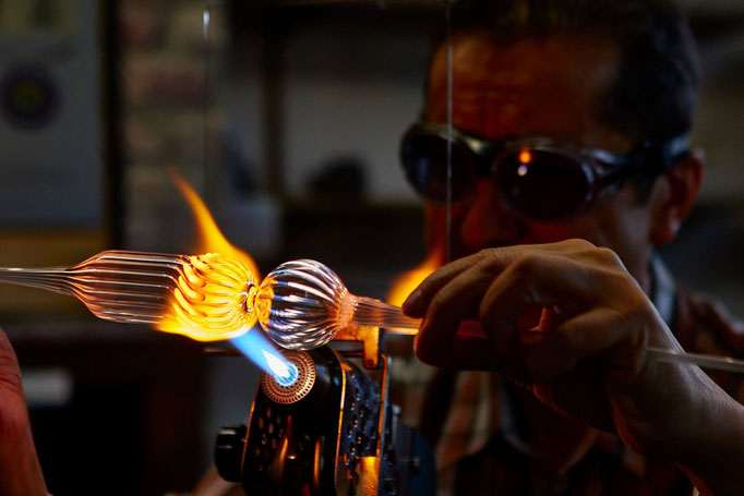 Un vidrio producido