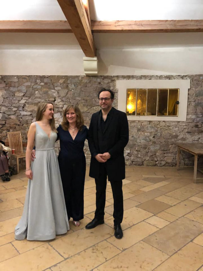 Emmanuelle Demuyter (Soprano), Tiphaine Alzias (Mezzo), Frédéric Isoletta (Piano)