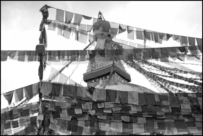 Bodnath, Népal.