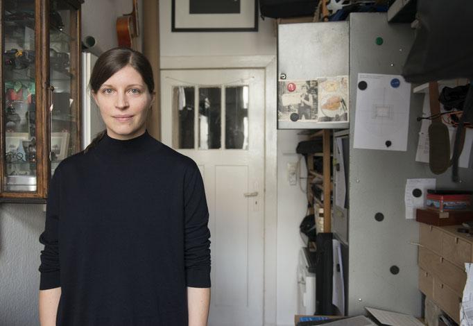 Porträt Franca Wohlt, Gewinnerin Neuköllner Kunstpreis 2017, Foto: Ines Borchart