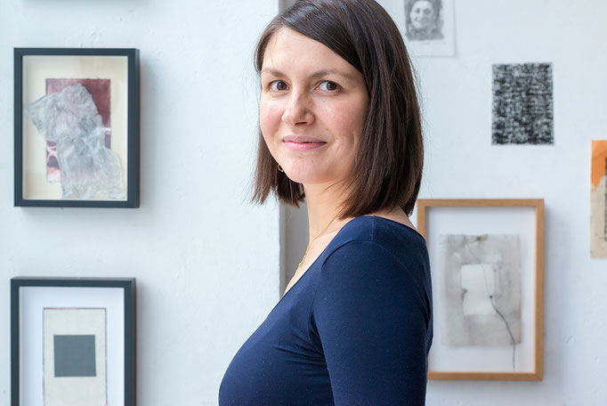 Porträt Barbara Cousin, Nominée Neuköllner Kunstpreis 2018, Foto: Ines Borchart